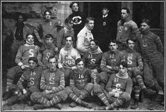 1903 Sewanee Tigers football team - Image: Sewanee Tigers football team (1903)