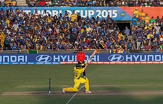 Shane Watson At The 2015 Cricket World Cup