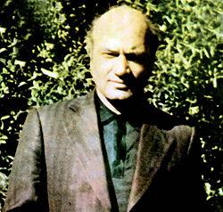 Pahlavi writing a book