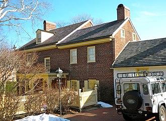Sharples Homestead - Sharples Homestead, January 2010