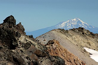 Lassen Volcanic National Park - Mount Shasta from Lassen Peak