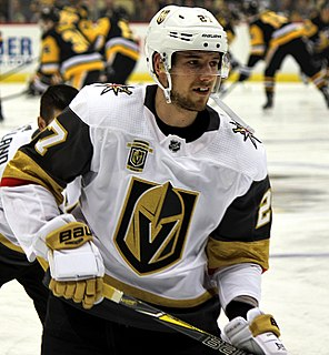Shea Theodore Canadian ice hockey player