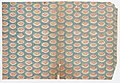 Sheet with overall pattern of ovals with red designs Met DP886637.jpg