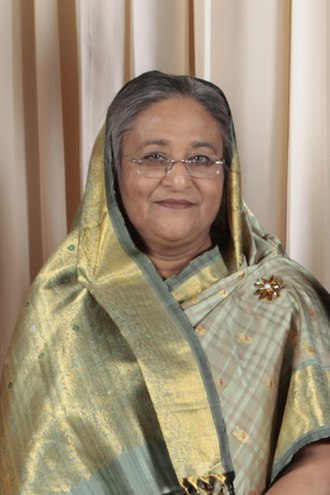 Bangladeshi general election, 2001 - Image: Sheikh Hasina 2009 cropped 3by 2