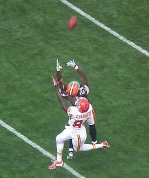 Sheldon Brown (American football) - Image: Sheldon Brown Interception