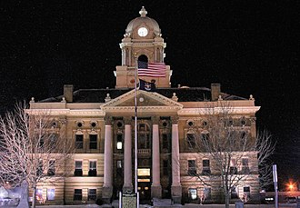 Shiawassee County, Michigan - Image: Shiawassee County Courthouse 2