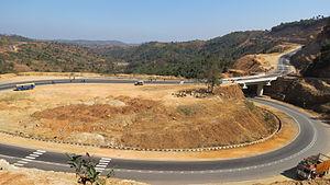 Shillong - Shillong Bypass road