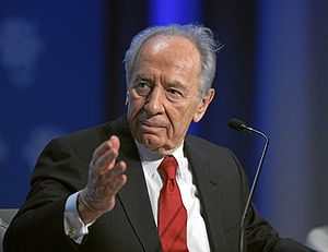 Shimon Peres at 2009 WEF.jpg