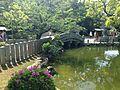 Shinjiike Pond and Taikobashi Bridge of Munakata Grand Shrine (Hetsu Shrine) 4.JPG