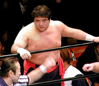 Shinya Hashimoto - Hashimoto in January 2004