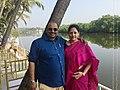 Shivasri Kanchi with His Wife.jpg