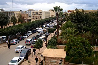 Chlef City in Algeria