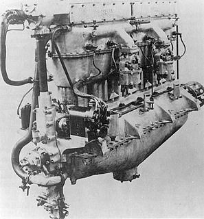 Siddeley Puma I-6 piston aircraft engine