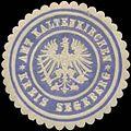 Siegelmarke Amt Kaltenkirchen Kreis Segeberg W0345837.jpg