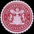 Siegelmarke Bürgermeisteramt Schlackenwerth W0317740.jpg