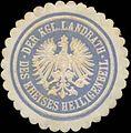 Siegelmarke Der K. Landrath des Kreises Heiligenbeil W0345931.jpg