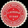Siegelmarke Idioten - & Irren - Anstalt St. Bernardin zu Hamb bei Capellen, Kreis Geldern W0226606.jpg