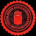 Siegelmarke Königlich Württembergische Bezirkskommando - Rottweil W0225268.jpg