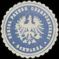 Siegelmarke K.Pr. Oberförsterei Schwarza W0382457.jpg