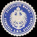 Siegelmarke K. Marine Kommando S.M.S. Stralsund W0379200.jpg