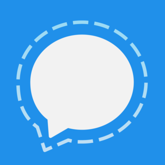 Signal (software) - Image: Signal Blue Icon