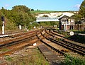 Signal Box and Footbridge, Lewes Station - geograph.org.uk - 255536.jpg
