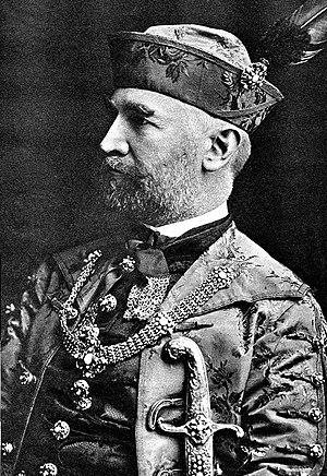 Sándor Simonyi-Semadam - Image: Simonyi Semadam in 1920