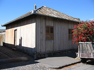 Collingwood, Victoria - Prefabricated houses imported from Singapore during the 1850s