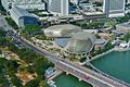 Singapore Esplanade - Theatres by the Bay viewed from UOB Plaza 1.jpg