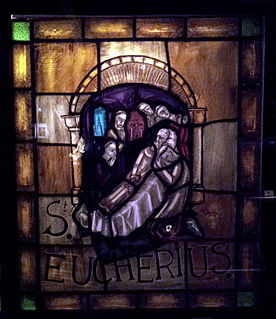 Eucherius of Orléans Bishop of Orleans