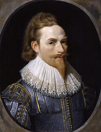 Nathaniel Bacon (painter) - Self-portrait