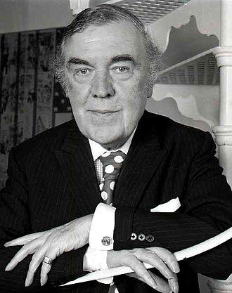 Norman Hartnell - Hartnell in 1972, by Allan Warren
