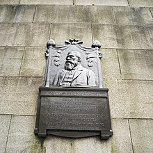 Sir Walter Besant memorial near the Waterloo bridge.jpg