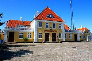 Skagensbanen - Image: Skagen station.II