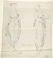 """Sketch of Two Statues- """"Ballerinas by Canova"""" MET DP804250.jpg"""