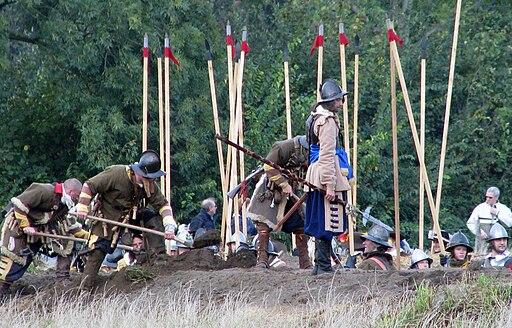 Slag om Grolle 2008-2 - Piekeniers in een nieuw gegraven approche