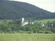 Slovakia Hradok kostol.JPG