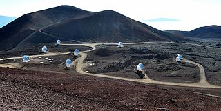 Submillimeter Array Array of radio telescopes in Hawaii