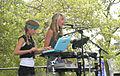 Smoosh at Bumbershoot 2007 - Maia & Asya 01.jpg