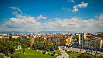 Sofia - Image: Sofia skyline