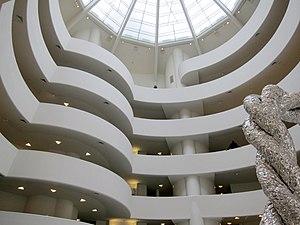 Solomon R. Guggenheim Museum - The museum's atrium