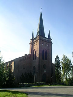 Somero Town in Southwest Finland, Finland