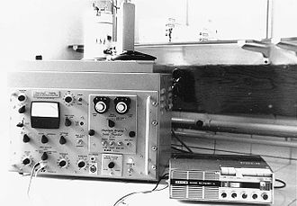 Spectrum analyzer - A spectrum analyzer circa 1970