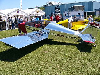 Sonex Aircraft - Sonex at the company display at Sun 'n Fun, 2004