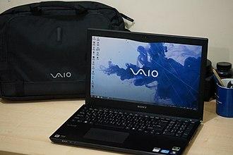 Sony Vaio S series - Image: Sony Vaio S (SVS151A12W)