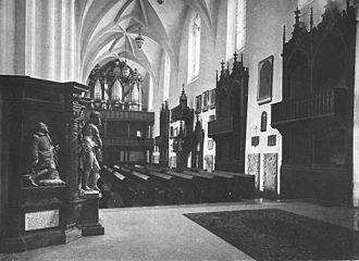 Organ Sonatas (Bach) - Silbermann Organ (1718–1720) in the Sophienkirche, where Wilhelm Friedemann Bach became organist in 1733