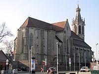 Sopron Szent Mihály templom a szentély felől.jpg