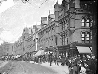 George's Street Arcade - South City Market, George's Street, Dublin, 1897
