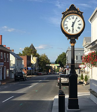 Lexington, Virginia - Main Street, 2017