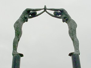 Rick Kirby - 'Southern Arch' in Castlemilk, Glasgow - 1999